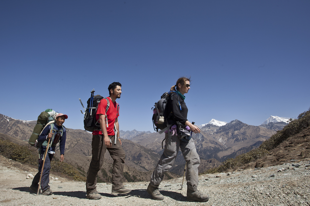 Nepal tourism - backpacking in Nepal